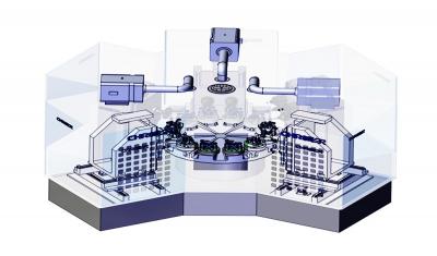 Six-station CNC milling machine HK720 series