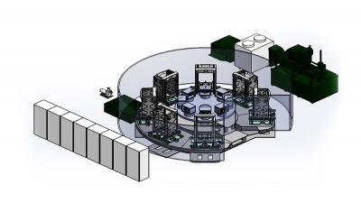 Eight-station CNC milling machine HK730 series