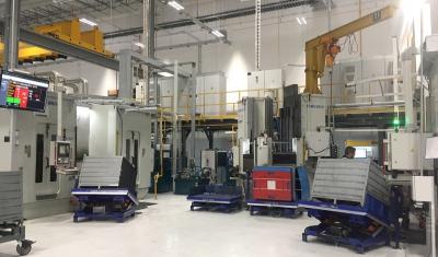 Four-station CNC milling machine HK710 series